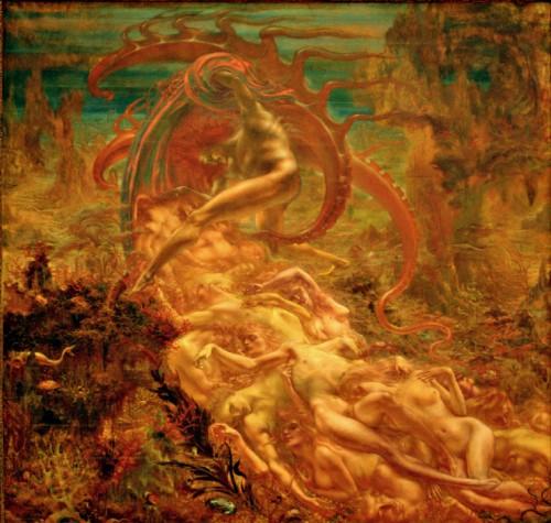 Jean Delville, The Treasures of Satan, 1894..jpg