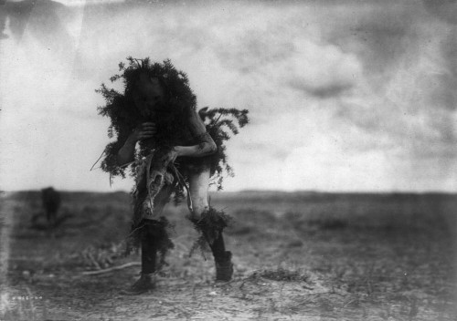 edward sheriff curtis Yebichai, the beggar, Tonenili-Navajo Indian, dressed in spruce branches.jpg