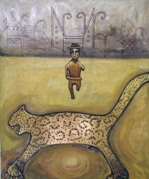 Oswaldo DeLeon Kantule Achu barbad ukagi In the skin of the jaguar.jpg
