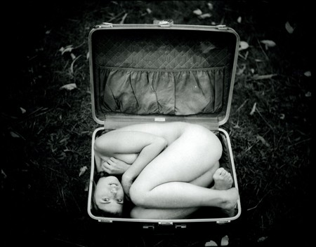 Michael Garlington Woman in a Suitcase 2009.jpg