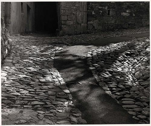 todd webb Cobblestones, Vaison la Romaine, Provence, France, 1977.jpg
