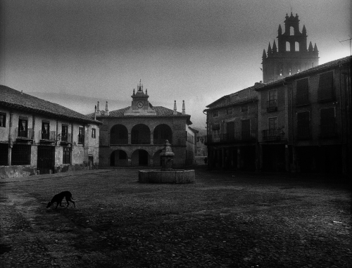 Rafael Sanz Lobato 1970 Ayllón, Segovia.jpg