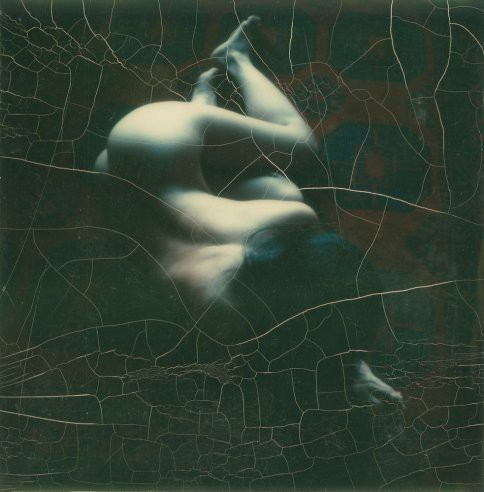 Co Rentmeester A nude photographed with a Polaroid SX-70 camera (with a 15-second time exposure), 1972.jpg