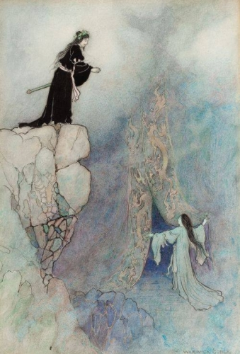 Warwick Goble Green Willow and other Japanese fairy tales, 1910.jpg