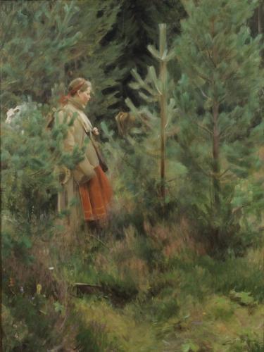Anders Zorn, Hersmaid, huile sur toile, 1908.jpg