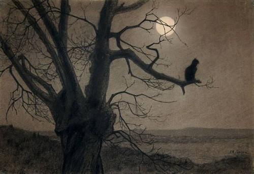 Theophile-Alexandre Steinlen (1859-1923)  -Chat au Clair de Lune.jpg