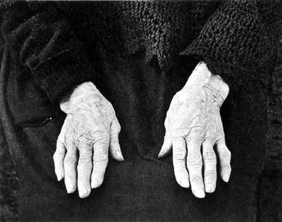 paul strand   Crofter's hands, South Uist 1954.jpg