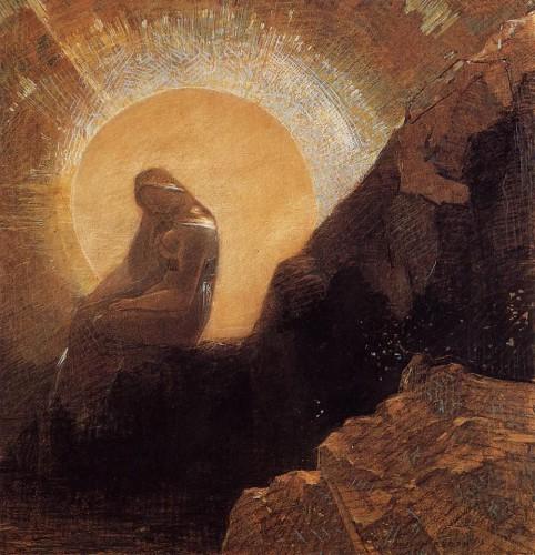 Odilon Redon Mélancolie 1876.jpg