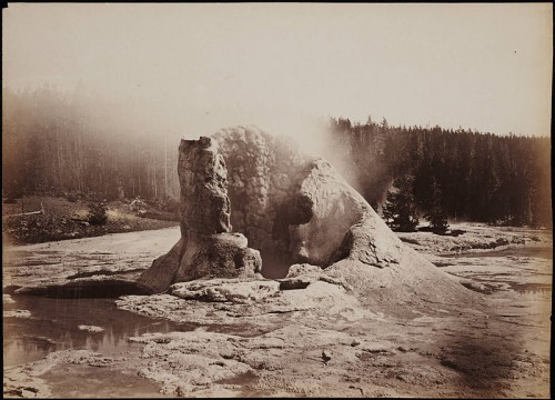 Carleton E Watkins Giant_Geyser_Upper_Geyser_Basin_Yellowstone_National_Park.jpg