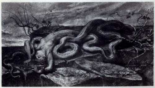 """Giuseppe Cellini (1855-1940), Illustration for Isaotta Guttadàuro ed altre poesie"""" de Gabriele D'Annunzio._n.jpg"""