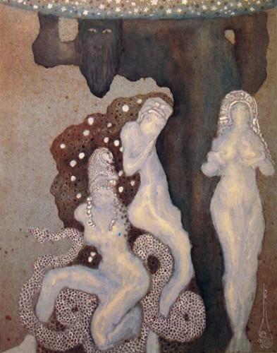 Nicholas Kalmakoff. Atlas and the Hesperides, 1911..jpg