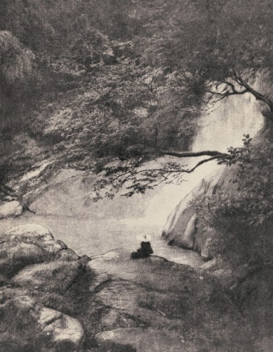 Long Ching-shan in 1933, sitting alone for Archaeology.jpg