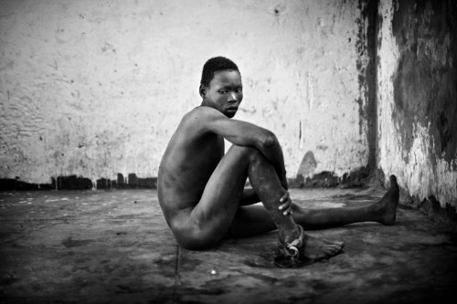 william eugène smith Juba, Sudan January 2011. Severely mentally disabled men Juba Central Prison for years on end..jpg