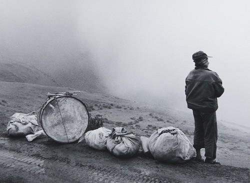 Flor Garduno Musician in Nowhere Escoma, Bolivia 1990.jpg