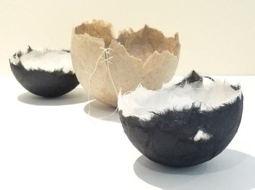 Ann Symes. New handmade paper bowls.jpg