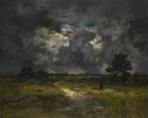 Narcisse Virgilio Díaz de la Peña, l'orage.jpg