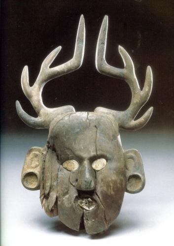 Caddo Indian Antler mask from Craig Mound, Spiro Mounds, Oklahoma..jpg