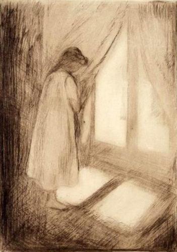 Edvard Munch. The girl at the window.1894.jpg