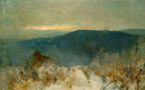 William Hyde 1900 Landsacape toward Peaslake, Surrey.jpg