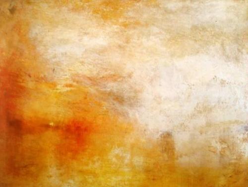 William Turner Coucher du soleil au-dessus d'un lac 1840.jpg