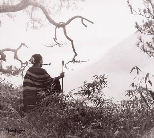 Eduardo Masferré 'At the Papatayan (sacred grove). Malegokong, Bontok, Mountain Province' 1949.jpg