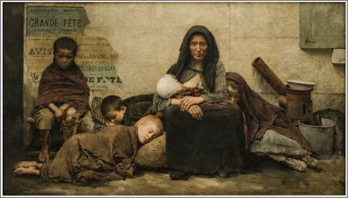 Fernand Pelez (1843-1913), Sans Asile - 1883 o.jpg