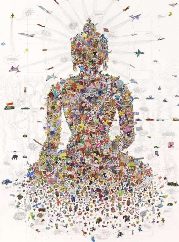 Gonkar Gyatso  Buddha Sakyamuni  2008.jpg