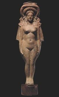 A GRAECO-EGYPTIAN TERRACOTTA FIGURE OF ISIS-APHRODITE CIRCA 2ND-1ST CENTURY B.C..jpg