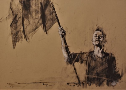 Guy Denning the broken wheel february 2018.JPG