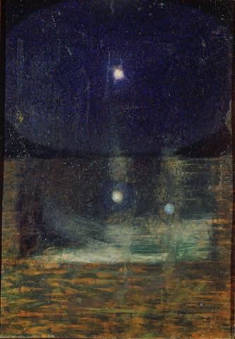 GIACOMO BALLA La costellazione di Orione, 1910.jpg
