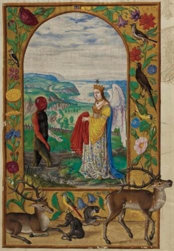 Auteur anonyme - Le Splendor Solis - Traité alchimique manuscrit allemand - 1582 (5).jpg