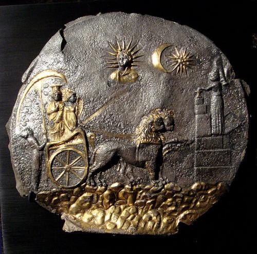 Cybèle Plaque from Ai Khanoum, Bactria (Afghanistan), 2nd century BCE.jpg