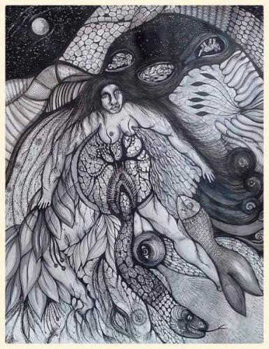 Delphine Cadoré pachamama-65x50cm.jpg