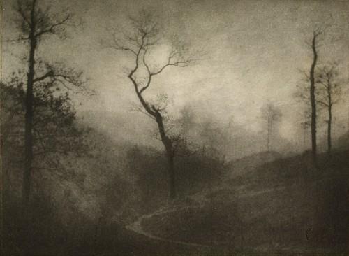 Gustave Marissiaux crépuscule d'hiver 1908.jpg