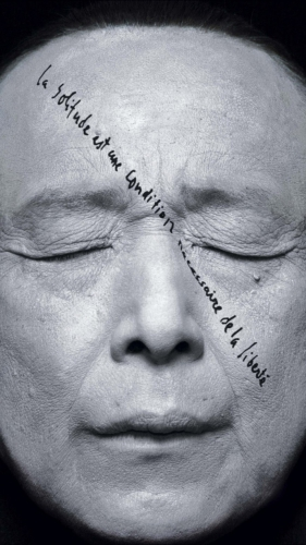 Robert Wilson La Solitude est un condition necessaire de la liberte - Gao Xingjian, 2012.jpg