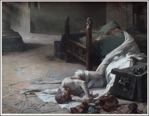Albert Maignan (1845-1908), La Mort de Guillaume le Conquérant - 1885.jpg