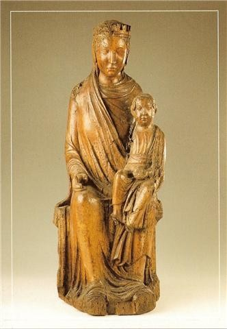 Vierge en majesté de Cens, Liège vers 1220-1230.jpg