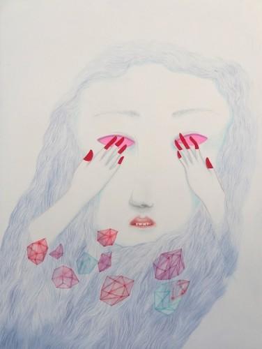 Cendrine Rovini Autoportrait de celle que je connais peu 2013.jpg