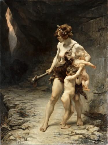Léon Maxime Faivre Les deux mères 1888.jpg