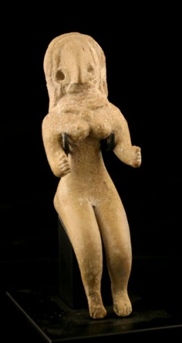 Indus Valley Terracotta Figurine of a Fertility Goddess 3000 BC to 2500 BC.jpg