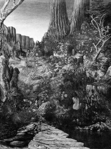 Jean-claude Fourneau - paradis terrestre 1953 .jpg