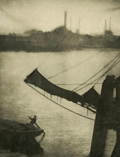 Alvin Langdon-Coburn, The Coal Cart, New York, 1911.jpg