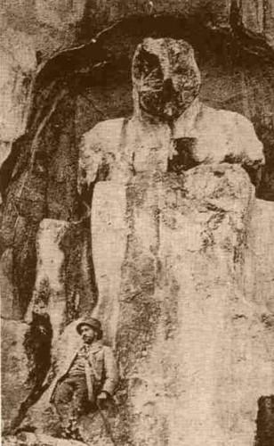 Cybele Statue 19thCenturyPostcard MountSipylus Manisa Turkey.jpg