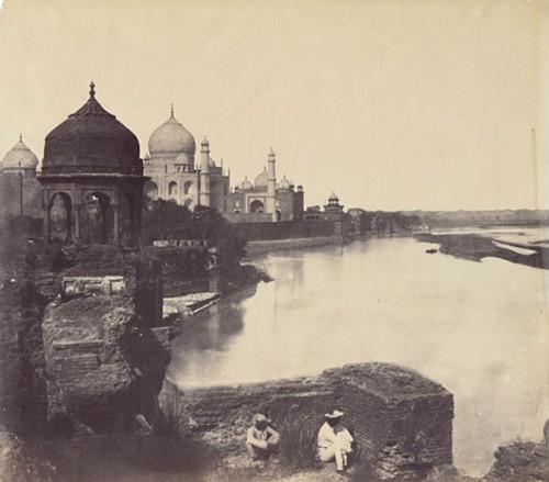 John Murray (English, 1809-1898), The Taj Mahal from the Banks of the Yamuna River, 1858-62,jpg.jpg