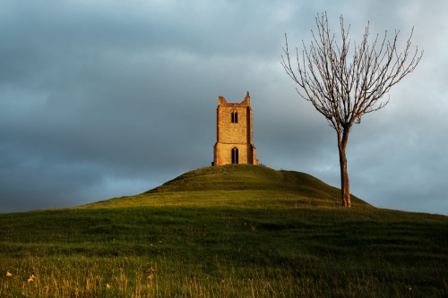 Paul Forgham_Burrow Mump St-Michaels-Church_Ruins_Somerset.jpg