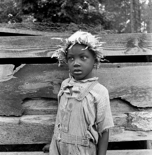 Dorothea Lange  Fille en Caroline du Nord en 1939 par .jpg