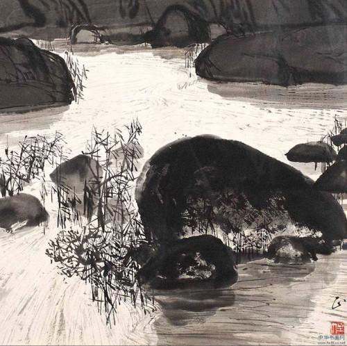 Zhu Naizheng rocks.jpg