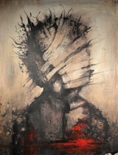 eric lacombe, Acrylic & paper on canvas, 50 x 65 cm.jpg