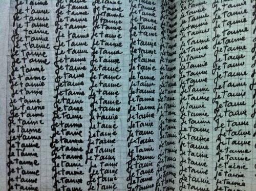 Louise Bourgeois 1977 Vous me ferez cent lignes.jpg