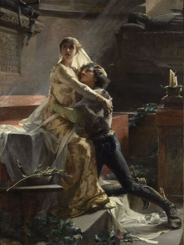 Albert Maignan (1845-1908), Le Réveil de Juliette - vers 1886.jpg